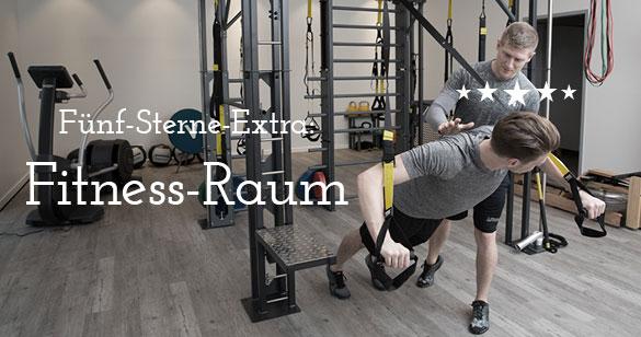 Fitness-Raum für Mitarbeiter