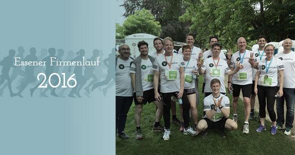 Gemeinsam erfolgreich: Unser Team beim 6. Essener Firmenlauf