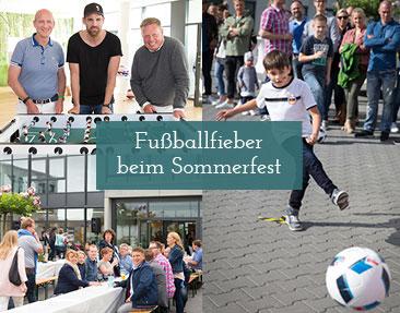 Ex-Fußballprofi Christoph Metzelder beim van der Ven-Sommerfest