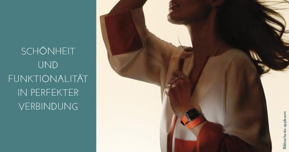 Elegantes Zeitgefühl gipfelt in der Apple Watch Hermès